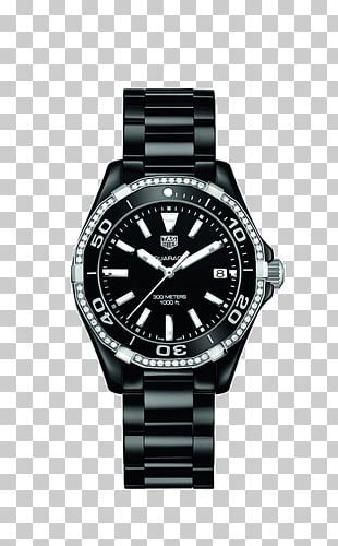 TAG Heuer Aquaracer Watch Jewellery Chronograph PNG