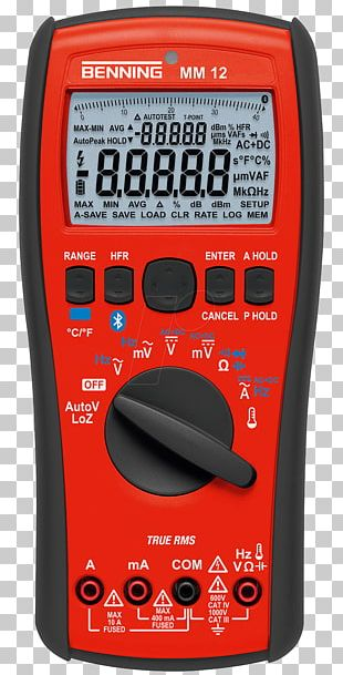Digital Multimeter True RMS Converter Calibration Data Logger PNG
