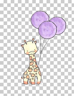 Giraffe Drawing Cuteness Cartoon Sketch PNG