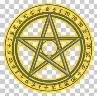 Pentagram Wicca Witchcraft Ceremonial Magic PNG