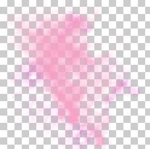 Petal Heart Pattern PNG