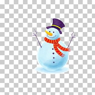 Snowman Euclidean Drawing PNG