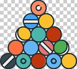 Billiards Sport Ball Icon PNG