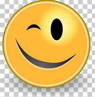 Smiley Wink Eye PNG