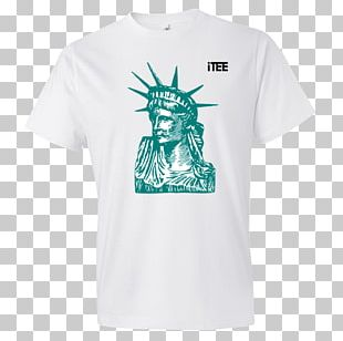 Statue Of Liberty T-shirt Ellis Island Monument PNG