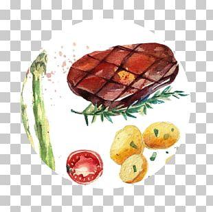 Sunday Roast Chicken Fried Steak T-bone Steak Vegetable PNG