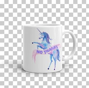 Unicorn Watercolor Painting Mug Towel Beach PNG