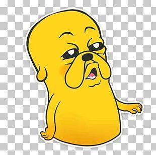 Puppy Jake The Dog Telegram Sticker PNG