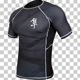 Rash Guard Brazilian Jiu-jitsu Gi Grappling Mixed Martial Arts PNG