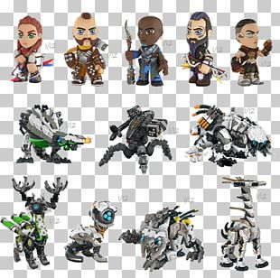 Action & Toy Figures The Witcher 3: Wild Hunt Horizon Zero Dawn Funko Figurine PNG