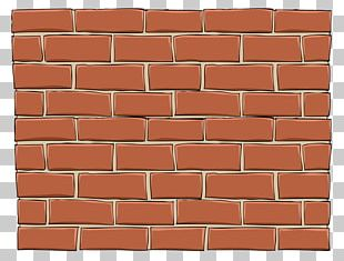 Brickwork Wall Bricklayer Wood Stain Material PNG