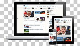 Handheld Devices Multimedia Digital Journalism Display Device Display Advertising PNG