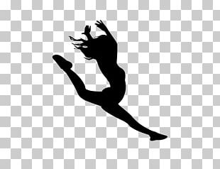 Dance Squad Silhouette Cheerleading Drill Team PNG