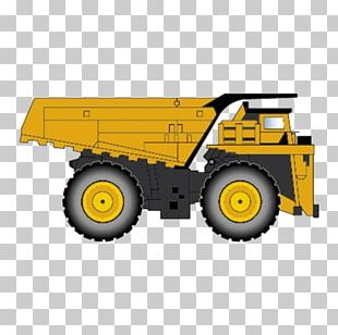 Dump Truck Heavy Equipment Dumper PNG