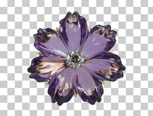 Flower Jewellery Gold-filled Jewelry Amethyst PNG