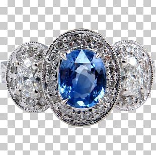 Sapphire Engagement Ring Gemological Institute Of America Diamond PNG
