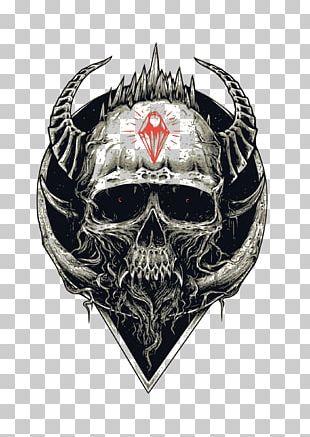 T-shirt Skull Skeleton PNG