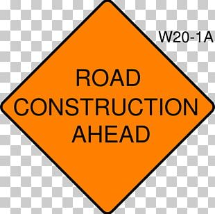 Construction Site Safety Architectural Engineering Traffic Sign PNG
