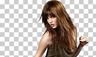 Layered Hair Hairstyle Long Hair Fashion PNG