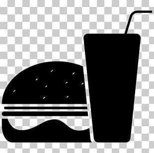 Hamburger Fast Food Restaurant Junk Food Drink PNG