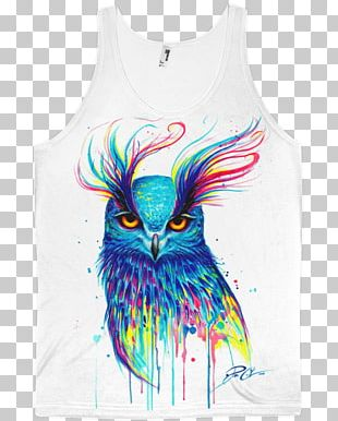 Owl Bird Drawing Watercolor Painting PNG