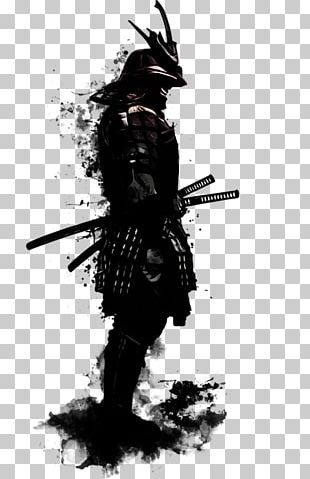 Samurai Art Canvas Print Japanese Armour PNG