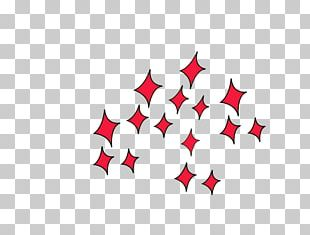 Red Google S Star Rhombus PNG