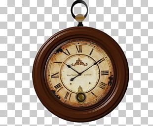 Alarm Clock Antique Table PNG