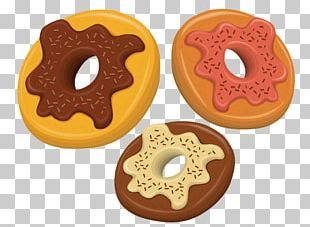 Donuts Biscuits Chocolate Chip Cookie Drawing PNG