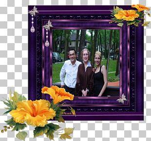 Floral Design Window Frames PNG