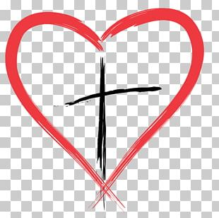 Felton Presbyterian Church Christian Cross Heart PNG