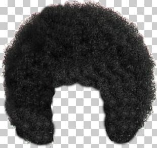 Afro-textured Hair Wig PNG