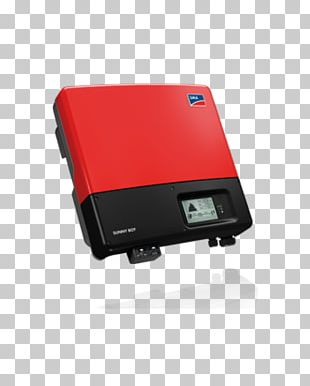 Solar Inverter SMA Solar Technology Power Inverters Grid-tie Inverter Solar Power PNG