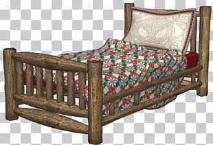 Bed Frame Garden Furniture Chair Wood PNG