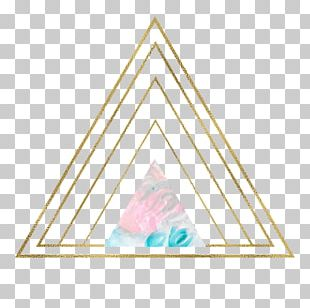 Golden Triangle Geometry Geometric Shape PNG