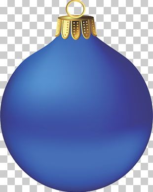 Christmas Ornament Candy Cane Blue Christmas PNG