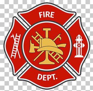 Firefighter Volunteer Fire Department Badge Graphics PNG