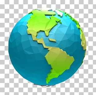 Globe World Animation Cartoon PNG