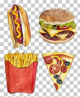 Fast Food Junk Food Hamburger French Fries French Cuisine PNG