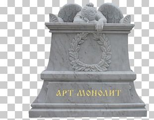 Monument Headstone Sculpture Memorial Marble PNG