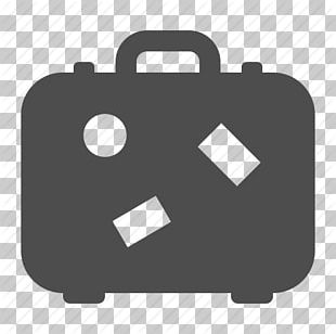 Air Travel Suitcase Baggage Icon PNG