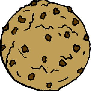 Cookie Monster Chocolate Chip Cookie Peanut Butter Cookie Black And White Cookie PNG