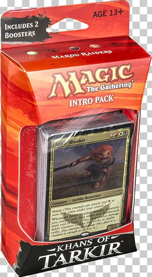 Magic: The Gathering Khans Of Tarkir Oakland Raiders Playing Card Wizards Of The Coast PNG
