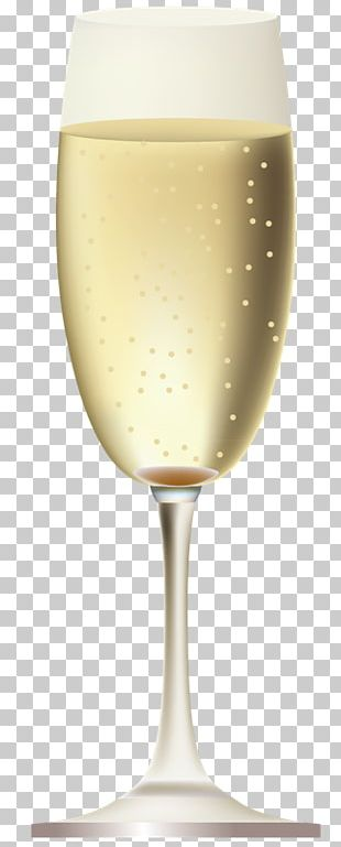 Champagne Glass White Wine Cocktail PNG