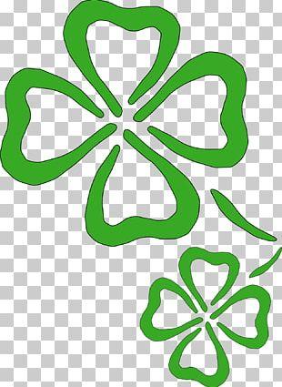 Ireland Shamrock Four-leaf Clover Saint Patrick's Day PNG
