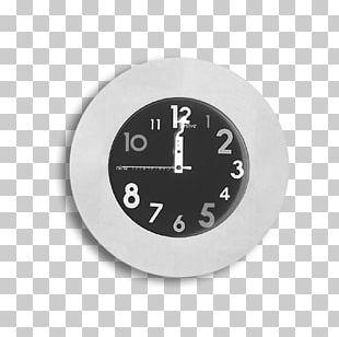 Mantel Clock Alarm Clock Movement Slate Gray PNG