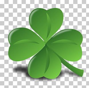 Saint Patricks Day Ireland Four-leaf Clover Shamrock PNG