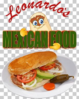 Mexican Cuisine Fast Food Take-out Breakfast Sandwich Leonardo's Mexican Food PNG