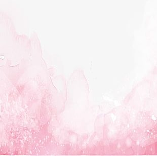 Pink Watercolor Pattern Material PNG