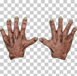 Costume Glove Latex Mask Hand PNG